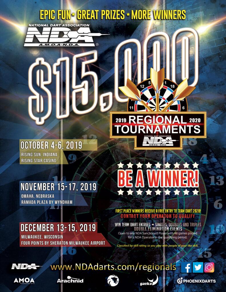 NDA Regional Tournament Flyer